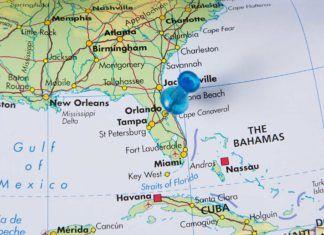 maps, Orlando, Florida,
