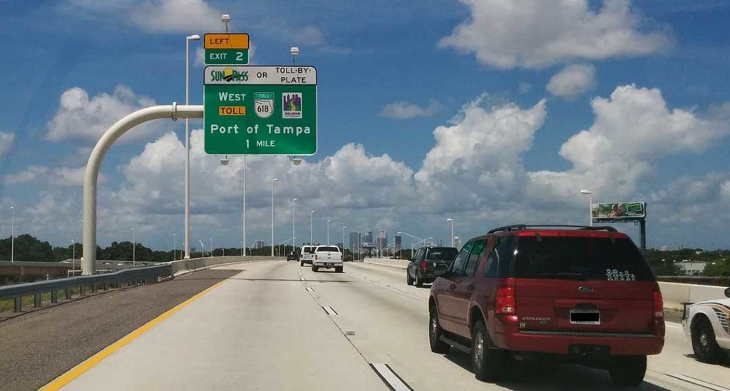 Toll By Plate Florida >> Toll Roads Save Money And Time On The Road Floridausaguide